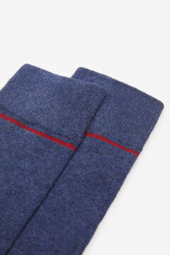 Springfield COLOURED MARL SOCKS blue