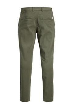 Springfield Pantalón chino Marco slim fit verde