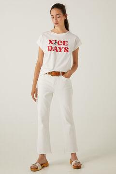 Springfield Nice Days T-shirt white