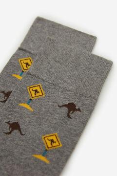 Springfield Kengurumintás zokni szürke