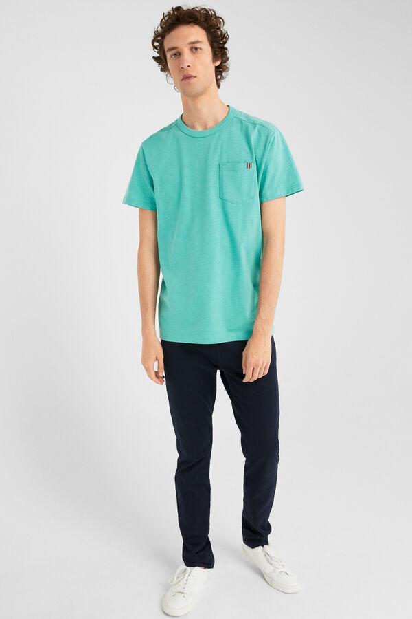 aa4174f5885f Springfield Short-sleeved t-shirt with pocket green