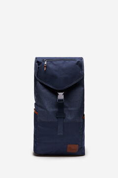 Springfield Blue combination fabric backpack blue
