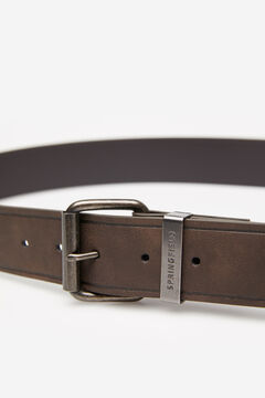 Springfield ESSENTIAL FAUX LEATHER BELT brown