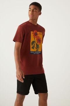 Springfield Sunflowers T-shirt red