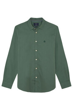 Springfield CAMISA PINPOINT STRETCH verde escuro