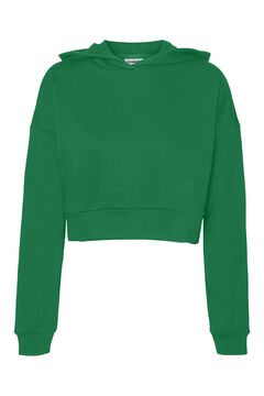 Springfield Crop hooded sweatshirt green