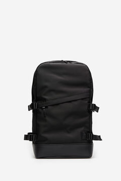 Springfield Black nylon backpack black