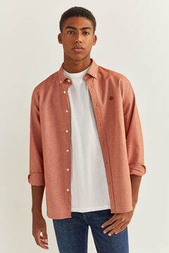 Springfield OXFORD SHIRT terracotta