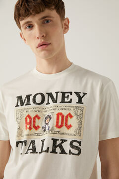 Springfield ACDC t-shirt ecru