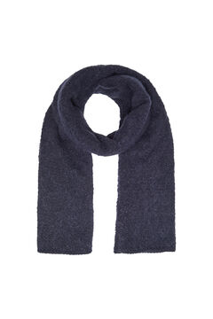 Springfield Plain scarf bluish