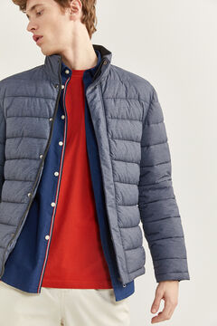Springfield Quilted jacket with DUPONT™ Sorona® padding. navy