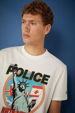 Springfield The Police T-shirt ecru
