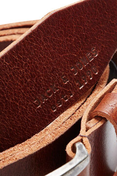 Springfield Classic leather belt barna