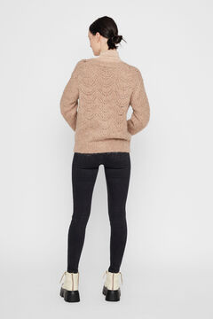 Springfield Jersey-knit cardigan  brown
