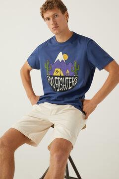 Springfield Foo Fighters T-shirt blue