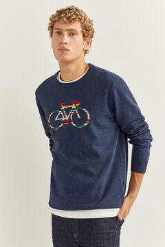Springfield Jersey bici azul