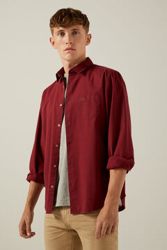 Springfield Coloured shirt red