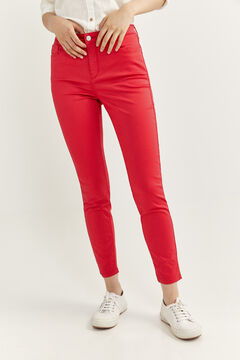 Springfield Satin Jeans red