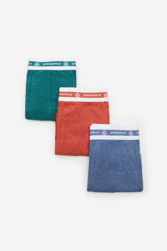 Springfield 3-pack essentials boxers green