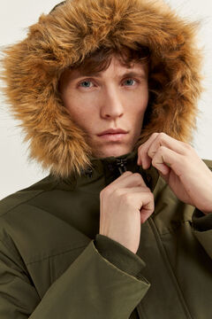 Springfield Multi-pocket parka green