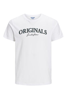 Springfield Logo text t-shirt  white