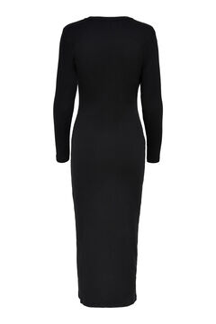 Springfield Stretch cotton dress black