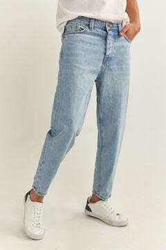Springfield MEDIUM-LIGHT WASH CARROT LEG JEANS blue