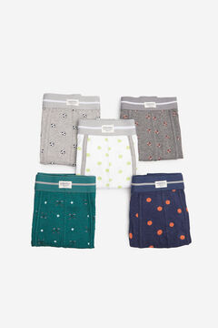 Springfield 5-pack balls boxers white