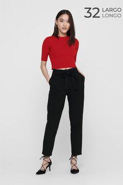 Springfield Tie waist trousers black
