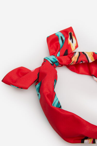 Springfield - Printed fabric rigid headband - 2