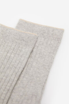 Springfield Ribbed Socks gray