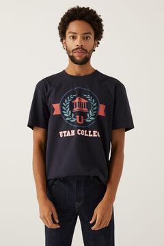Springfield T-shirt varsity blau