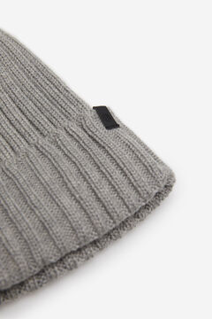 Springfield RIB KNIT HAT gray