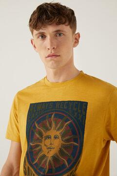 Springfield Camiseta estampado sol golden