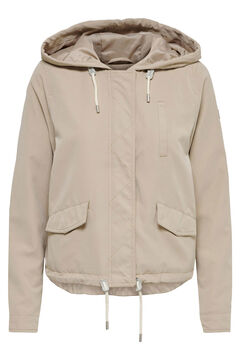 Springfield Hooded jacket braun