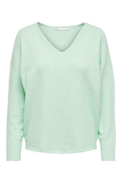 Springfield V-neck jumper green