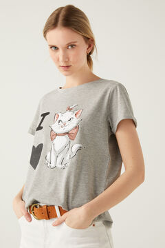 Springfield Aristocats I Love Mary T-shirt grey