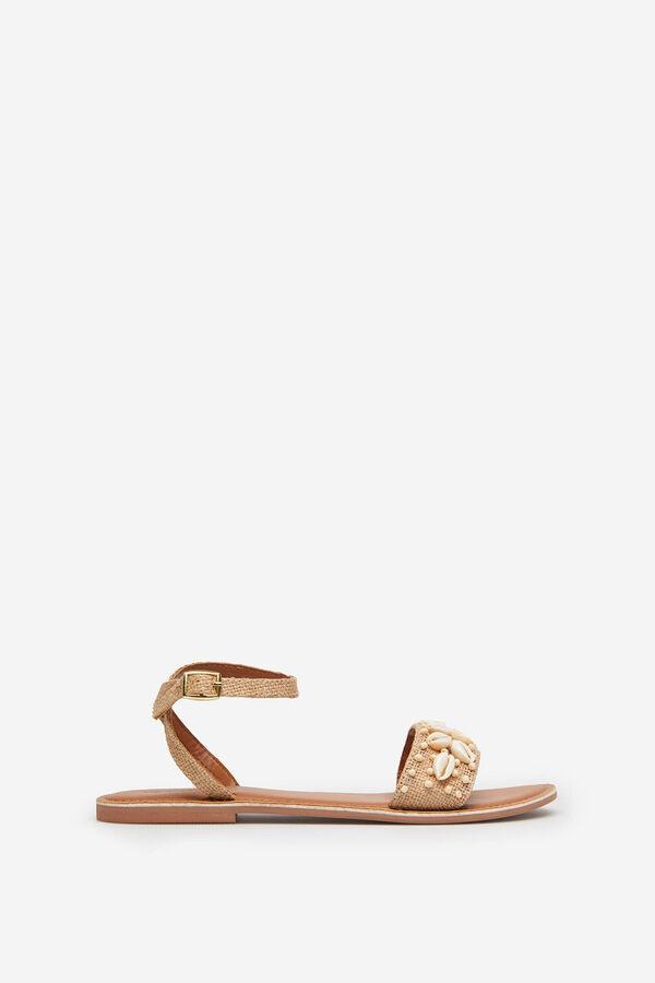 452ad6f43 Springfield Seashell sandals natural