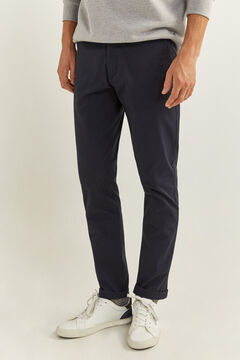 Springfield Essential slim chinos blue