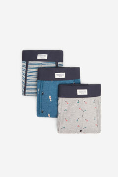 Springfield 3-PACK GAMES BOXERS gray