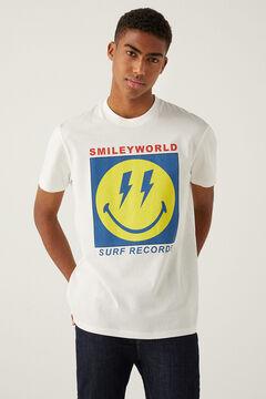 Springfield T-shirt Smileyworld cru