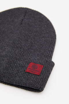 Springfield RIB KNIT HAT grey