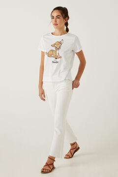 Springfield Organic cotton Bambi T-shirt white