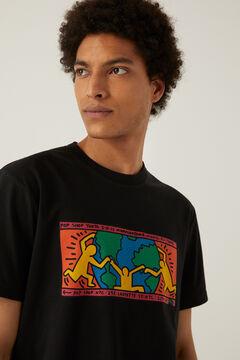 Springfield Keith Haring t-shirt black