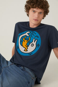 Springfield Keith Haring t-shirt bluish