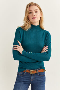 Springfield Button Cuff Jumper mallow