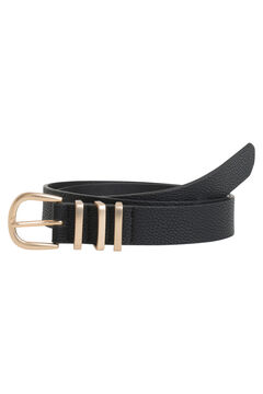 Springfield Belt with buckle noir