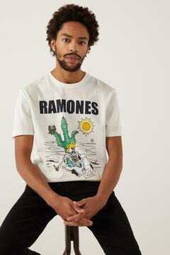 Springfield Ramones t-shirt ecru