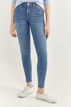 Springfield Body Shape Jeans steel blue