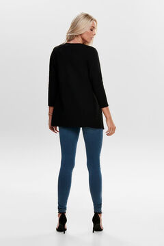Springfield Long-sleeved cardigan black